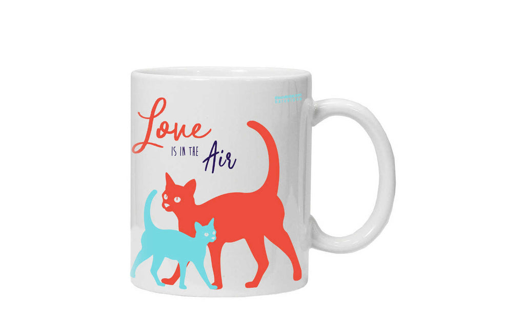 Taza gatos in love