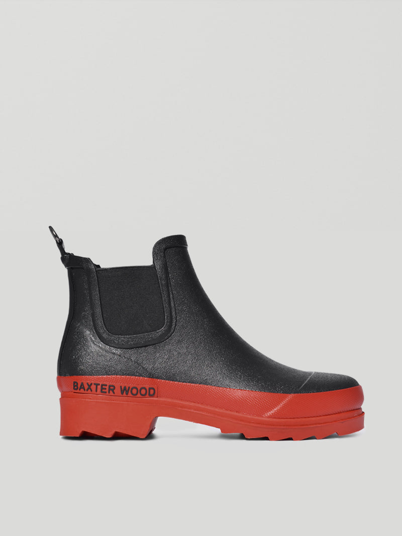 Red Sole Hevea Chelsea Boots