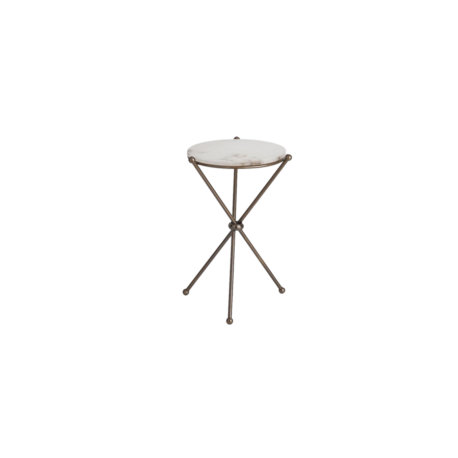 Damien Accent Table | White