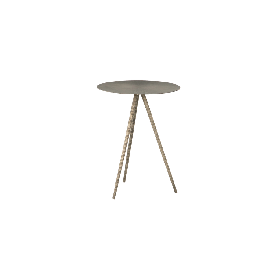 Remy Accent Table | Nickel