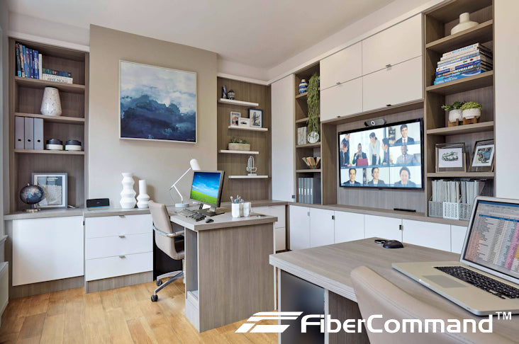 home office wiring example