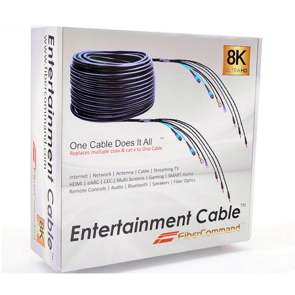 ruipro complete fiber optic hdmi cable connection kit best 4k 8k 120hz hdr earc atmos vision