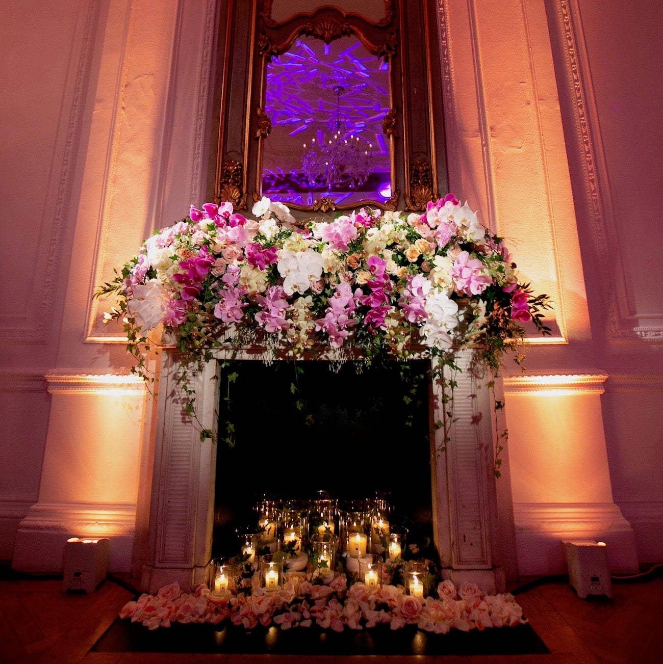 Orchids and Roses at One Belgravia