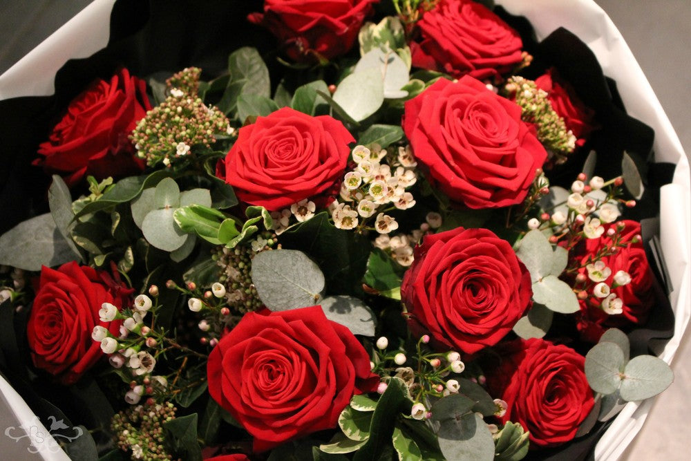 For Valentine's Day, all our Red Roses are