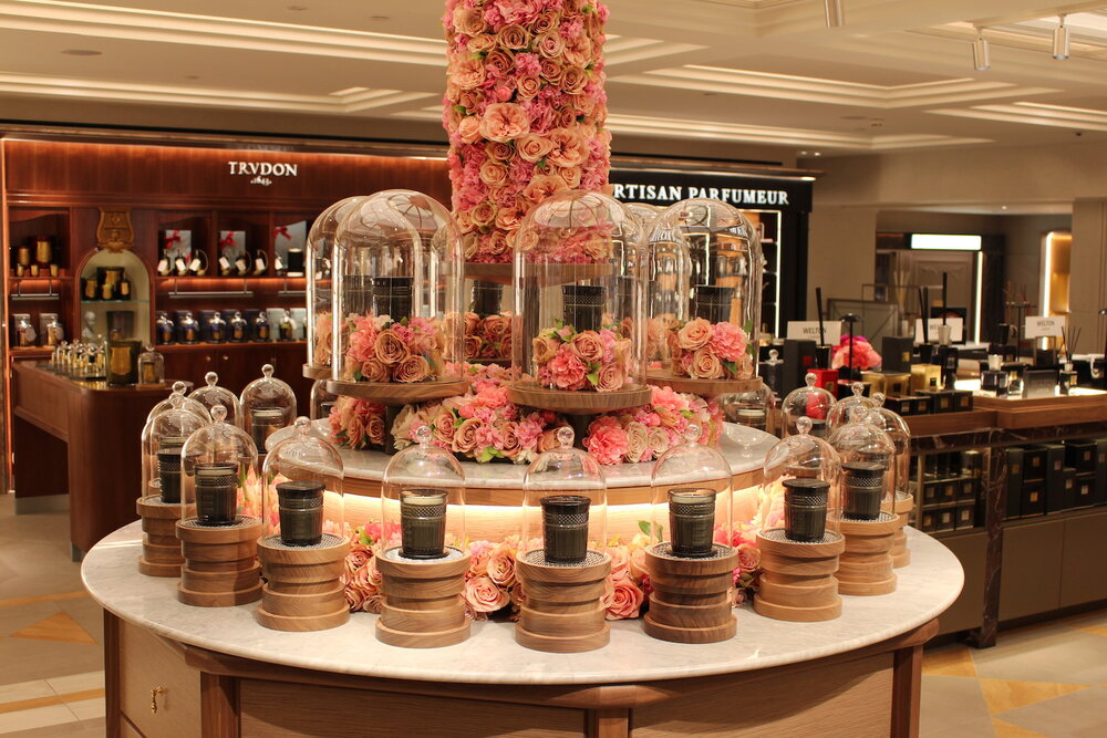 Neill Strain Floral Couture Fragranced Candles at Harrods Third Floor Home Fragrances