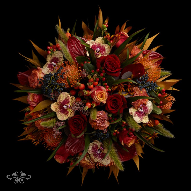 """""""Halkin"""" designs for Autumn 2019 by Neill Strain Floral Couture"""