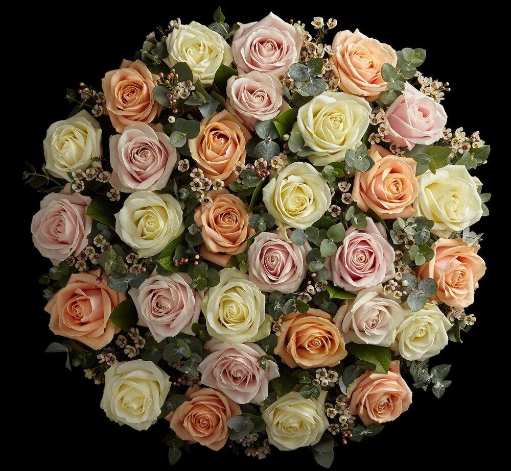 Valentine's Avalanche Roses by Neill Strain Floral Couture