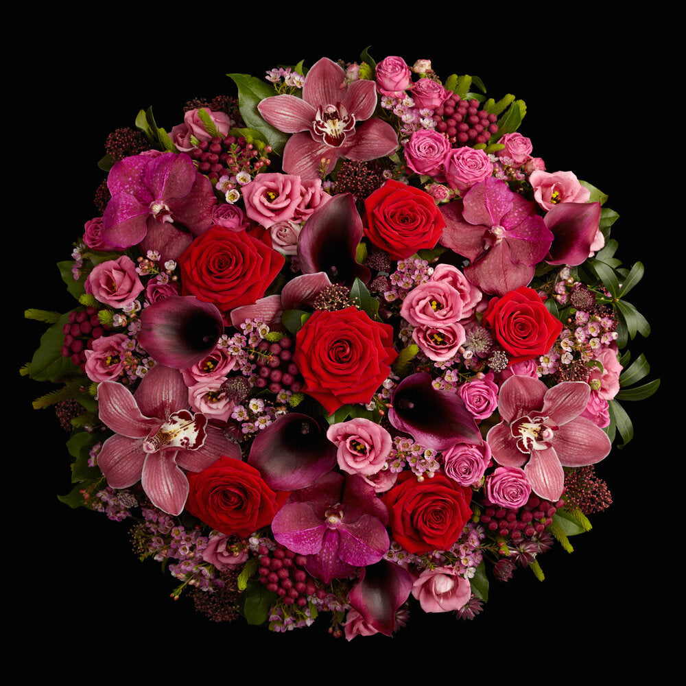 Valentine's Roses Neill Strain Floral Couture