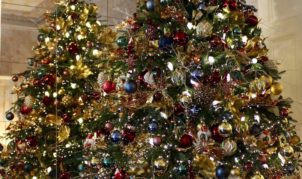 Christmas Trees, delivered and fully decorated by Neill Strain Floral Couture