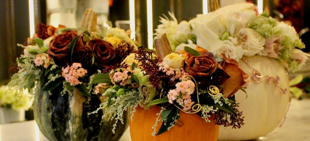 Pumpkin designs can be ordered at the Belgravia boutique, at Harrods on online with delivery throughout London