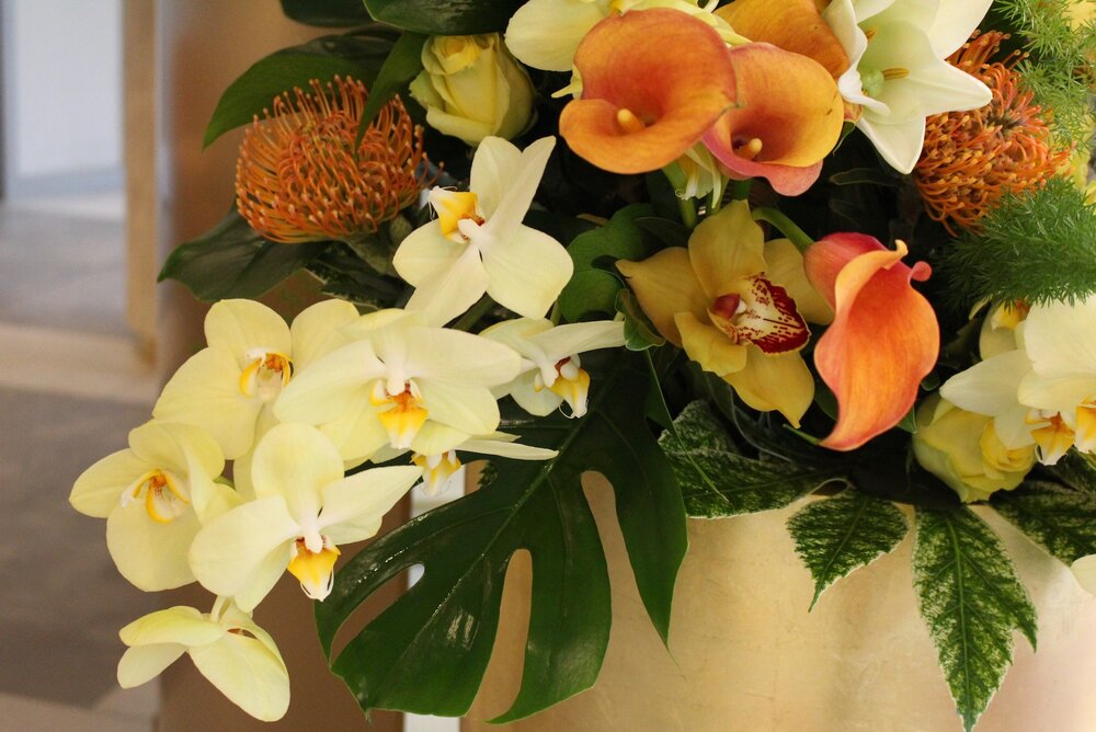 Luxury floral design created by Neill Strain Floral Couture