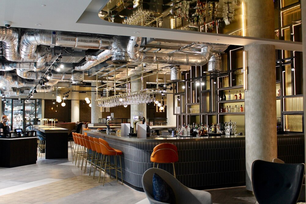 """Restaurant """"NineB"""" located in the Novotel Hotel, Leicester"""
