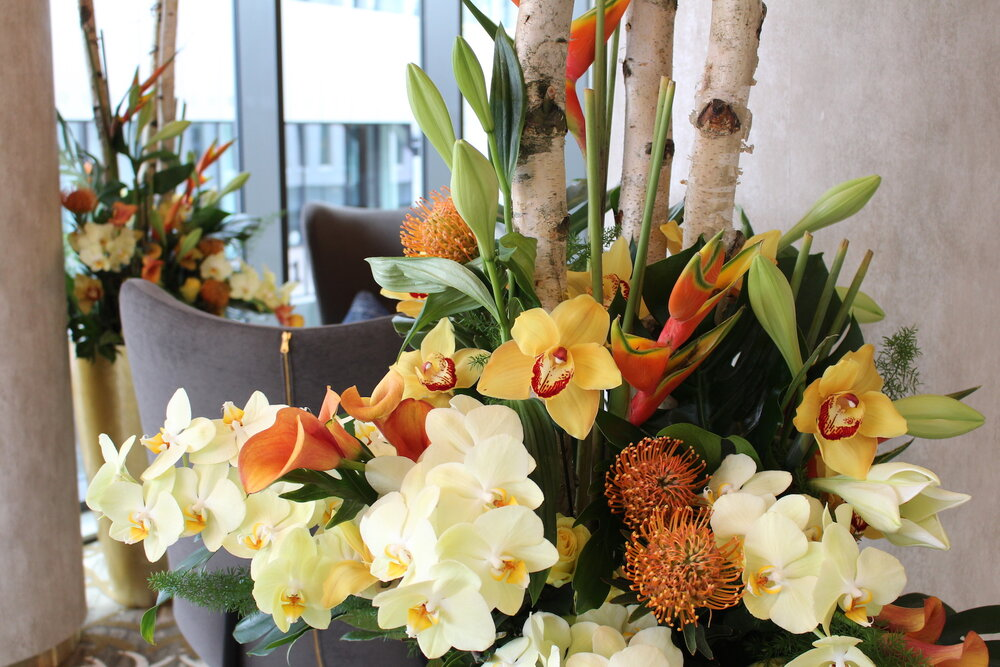 Stunning flowers sourced for Neill Strain Floral Couture from Holland's best growers