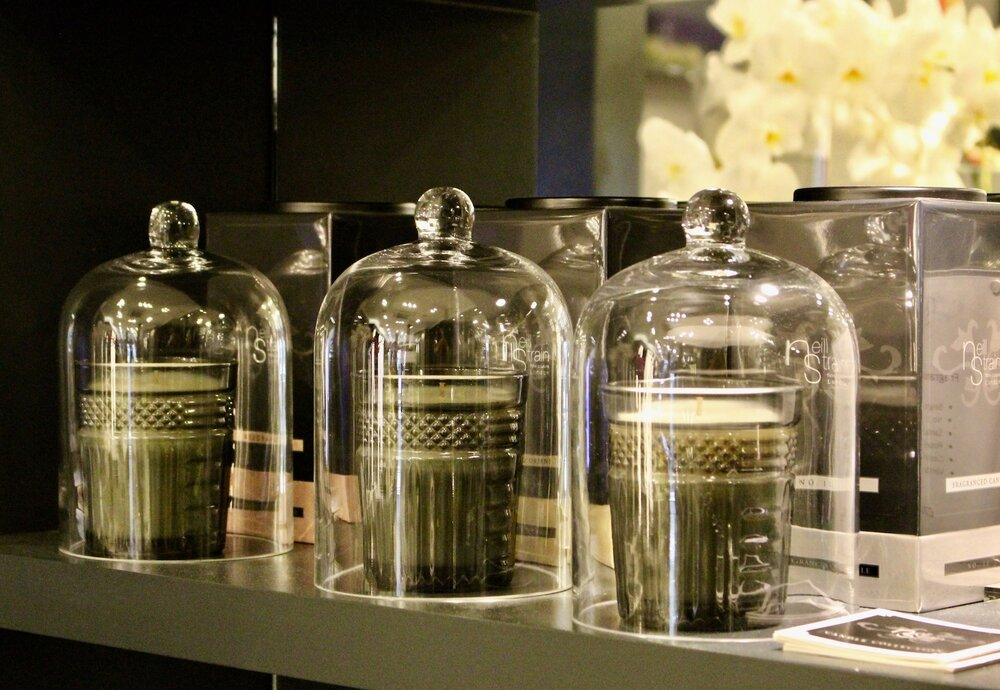 Neill Strain Floral Couture fragranced candles made with 100% natural ingredients