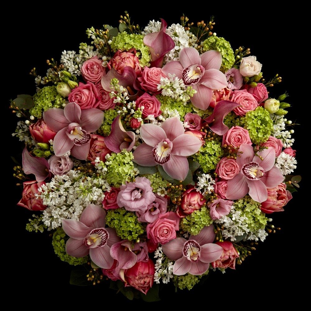 """""""Westminster"""" hand-tied bouquet by Neill Strain Floral Couture for Mother's Day or International Women's Day"""