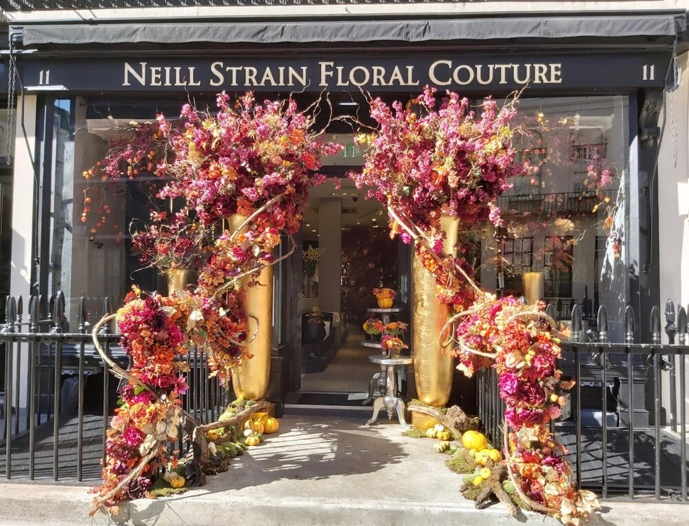 Neill Strain Floral Couture Autumn 2019