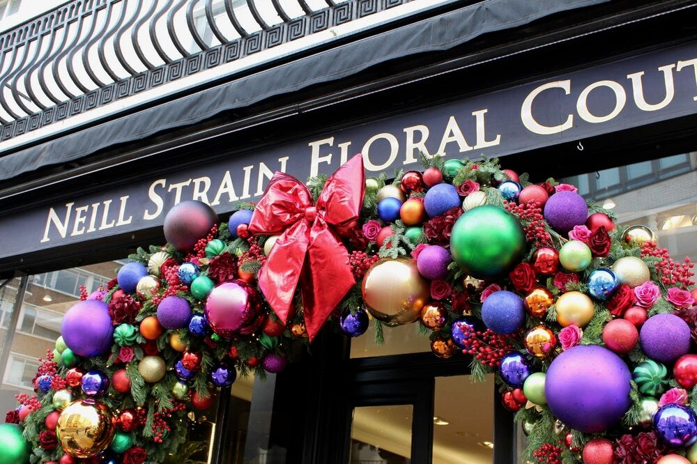 Christmas blog by Neill Strain Floral Couture