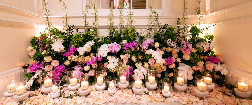 Luxury event flowers by Neill Strain Floral Couture