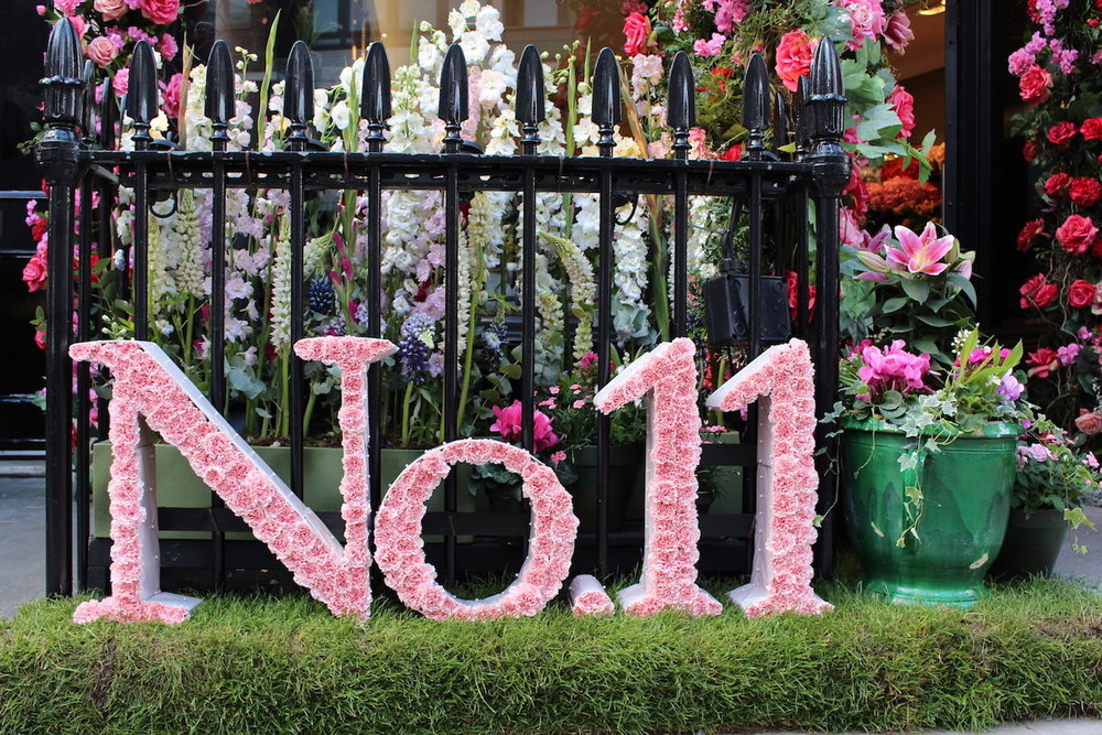 Neill Strain Floral Couture Belgravia In Bloom design inspired by No. 11 Fragranced Candle