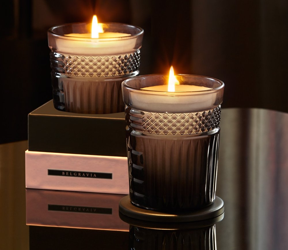 """Neill Strain Floral Couture Fragranced Candle """"Belgravia"""""""