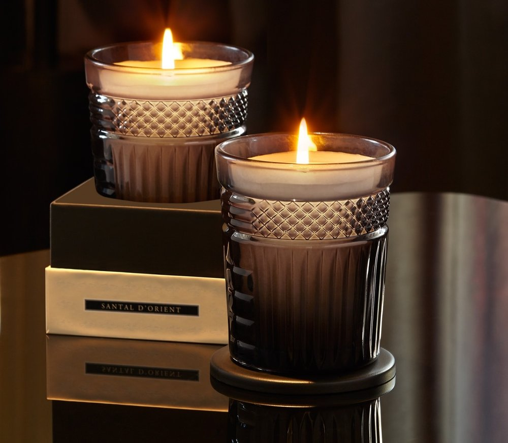 Neill Strain Floral Couture Fragranced Candle Santal d'Orient