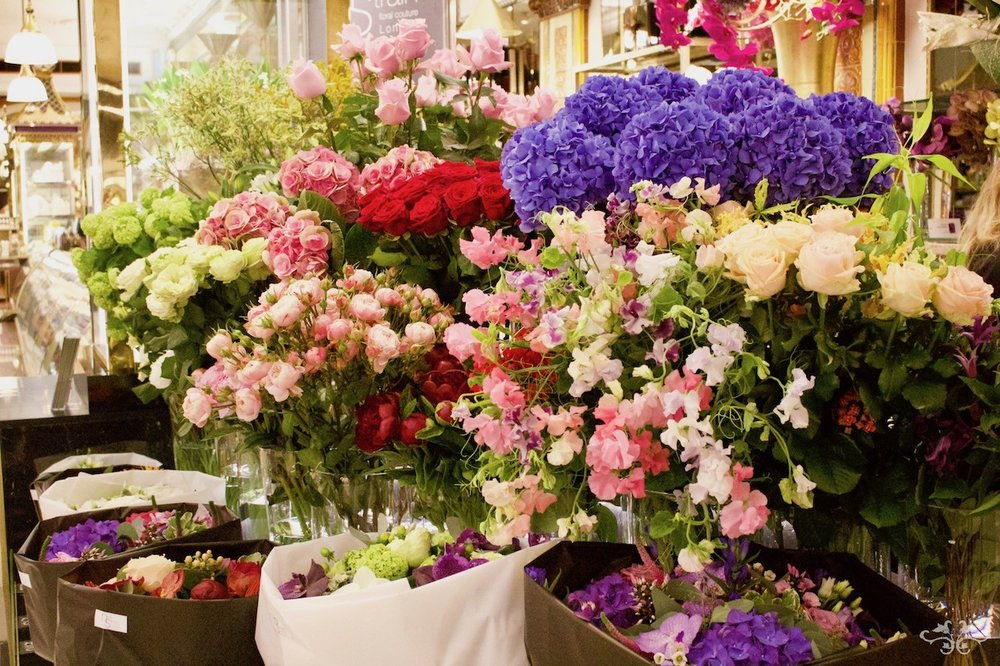 Neill Strain Floral Couture at Harrods, showcasing the most beautiful flowers in the world