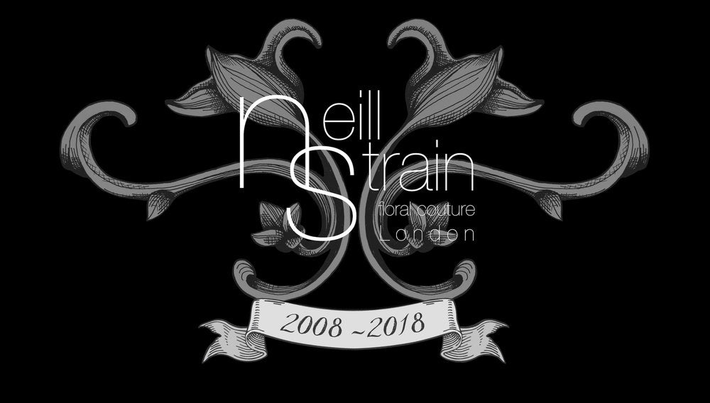 10 year anniversary Neill Strain Floral Couture