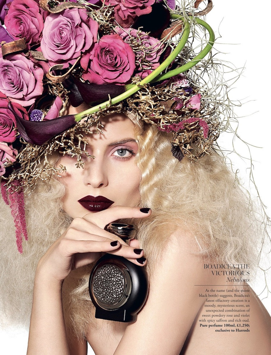 Harrods flowers by Neill Strain Floral Couture