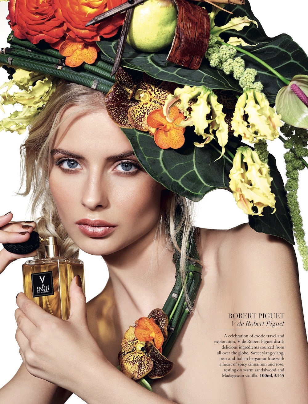 Harrods floral styling by Neill Strain Floral Couture