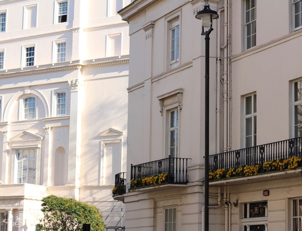 Neill Strain Floral Couture is located on West Halkin Street in the heart of Belgravia.