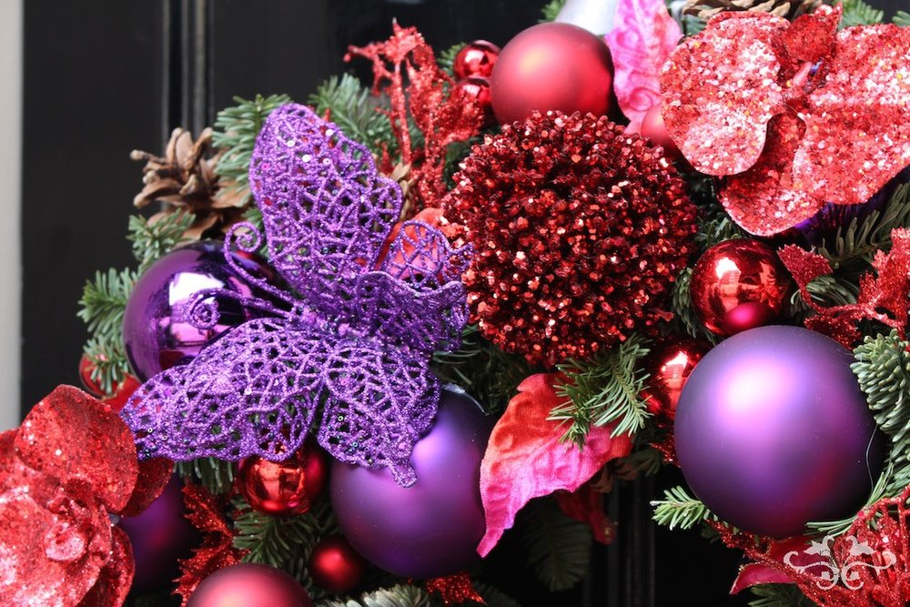 Luxury and opulence for Christmas and the holiday season at Neill Strain Floral Couture