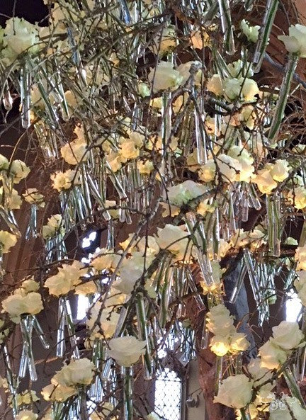 Floral Installation at the Holy Cross Church in Leicester for the reinterment of Richard III