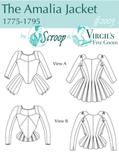 Load image into Gallery viewer, Amalia Paper Pattern  || Scroop Patterns & Virgil's Fine Goods