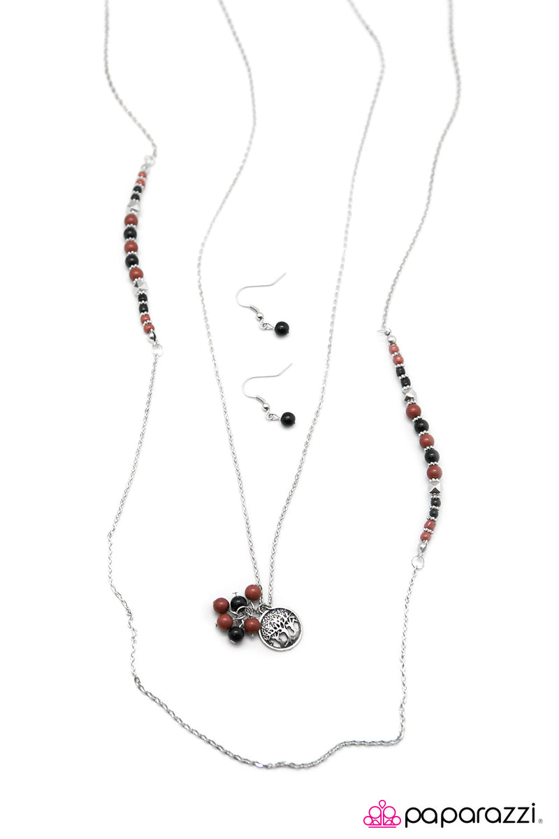 In This Neck of The Woods - Multi Necklace - Paparazzi Accessories