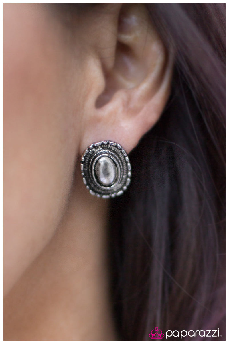 five-dollar-jewelry-when-in-machu-picchu-silver-post earrings-paparazzi-accessories