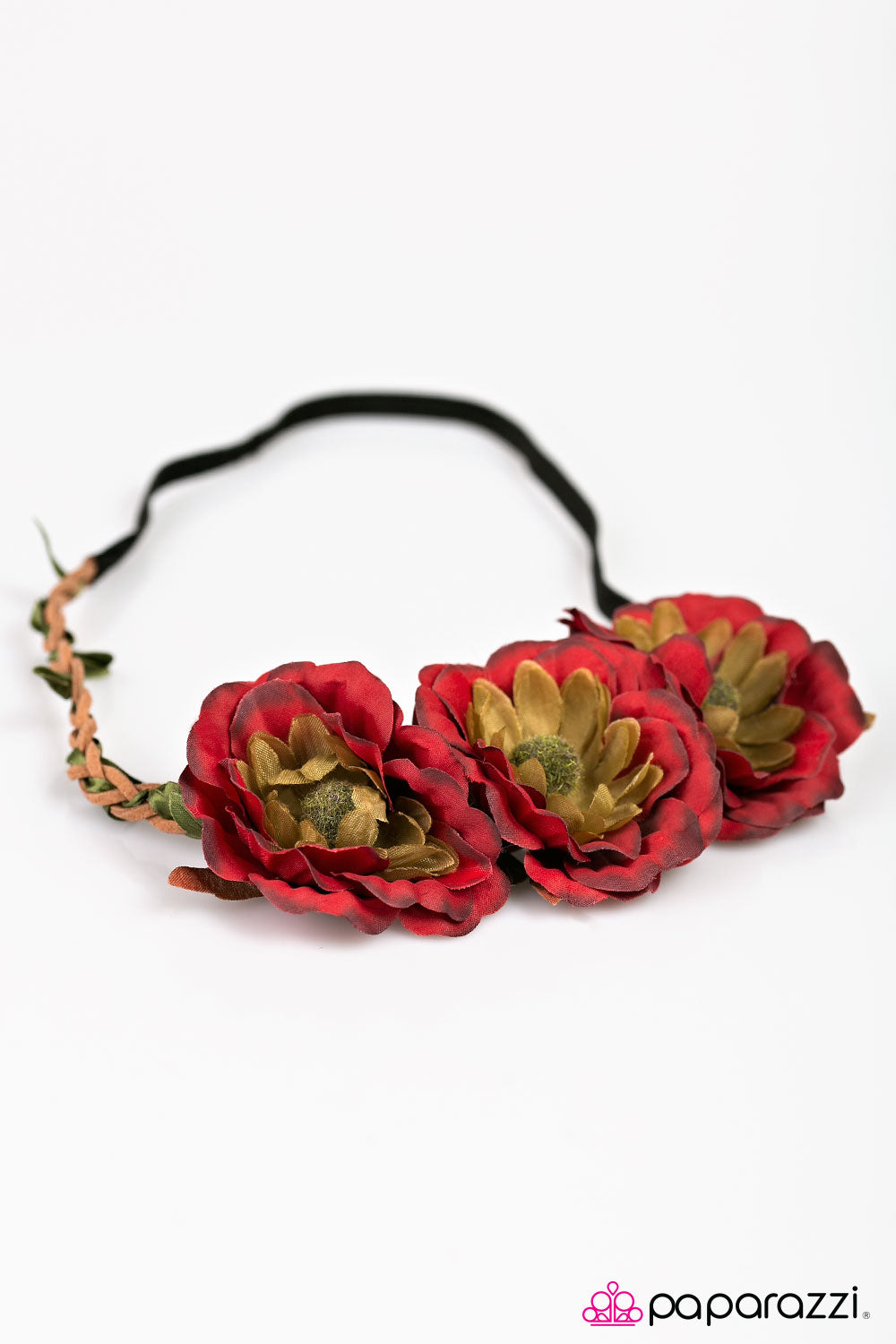 Forest Flower - Red  - Paparazzi Accessories