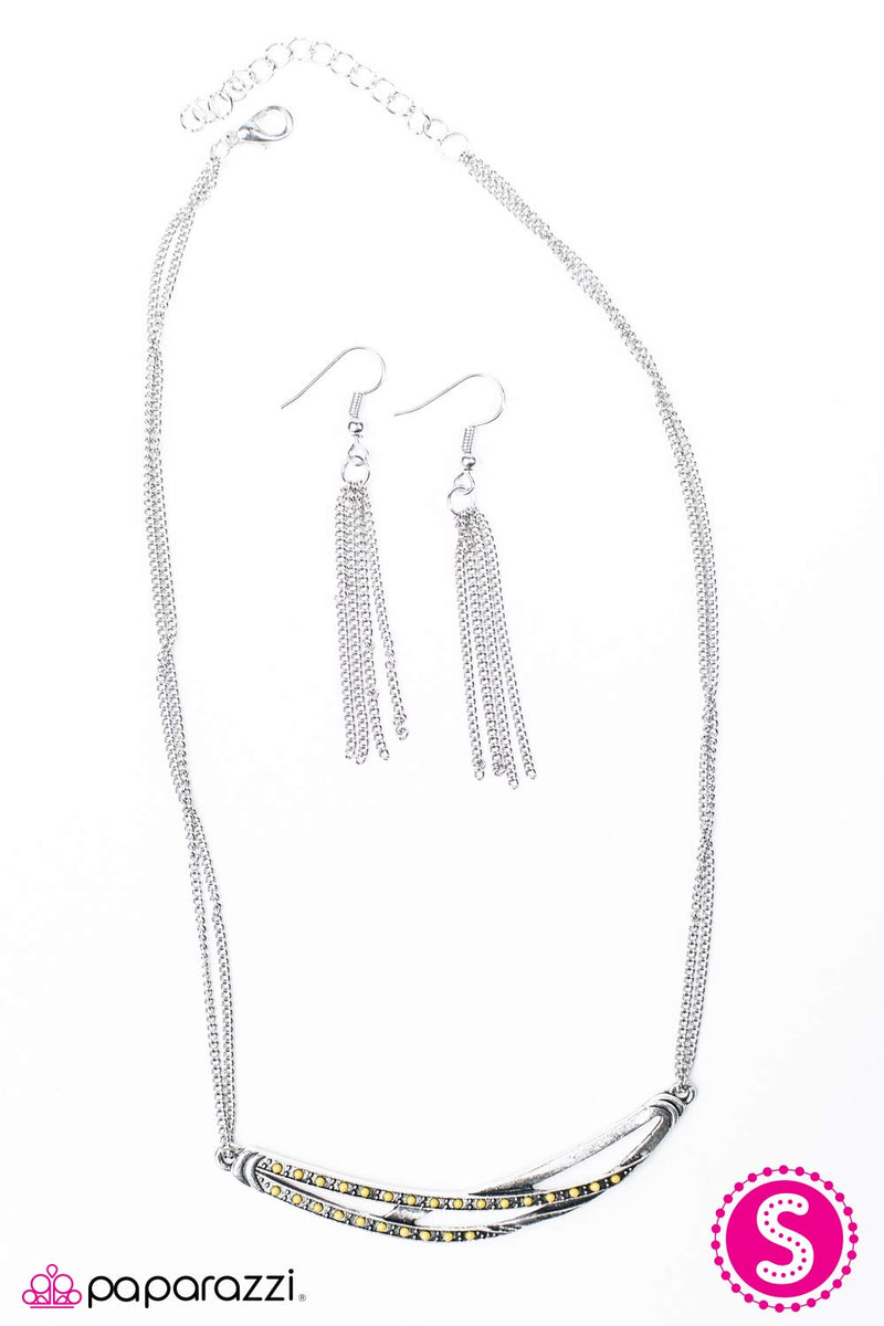 Harlem Moon Necklace - Paparazzi Accessories