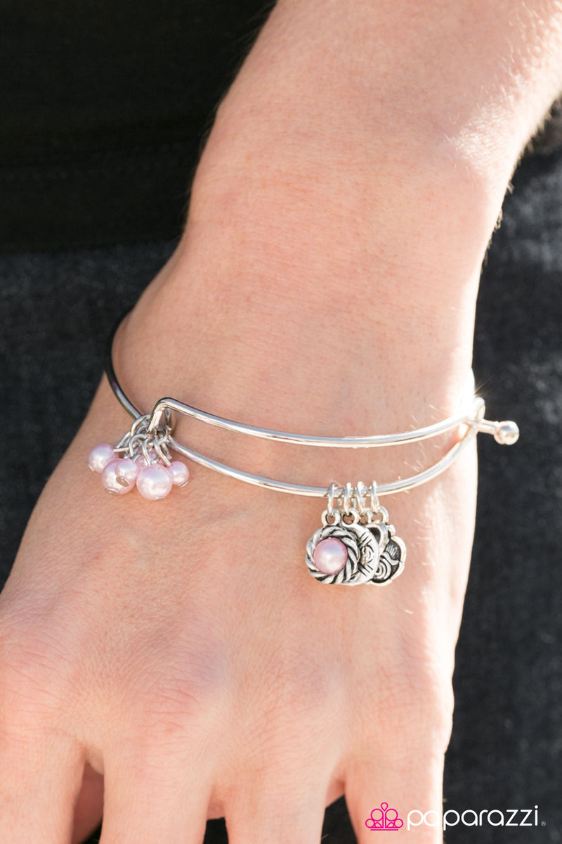 five-dollar-jewelry-forever-be-my-always-pink-bracelet-paparazzi-accessories