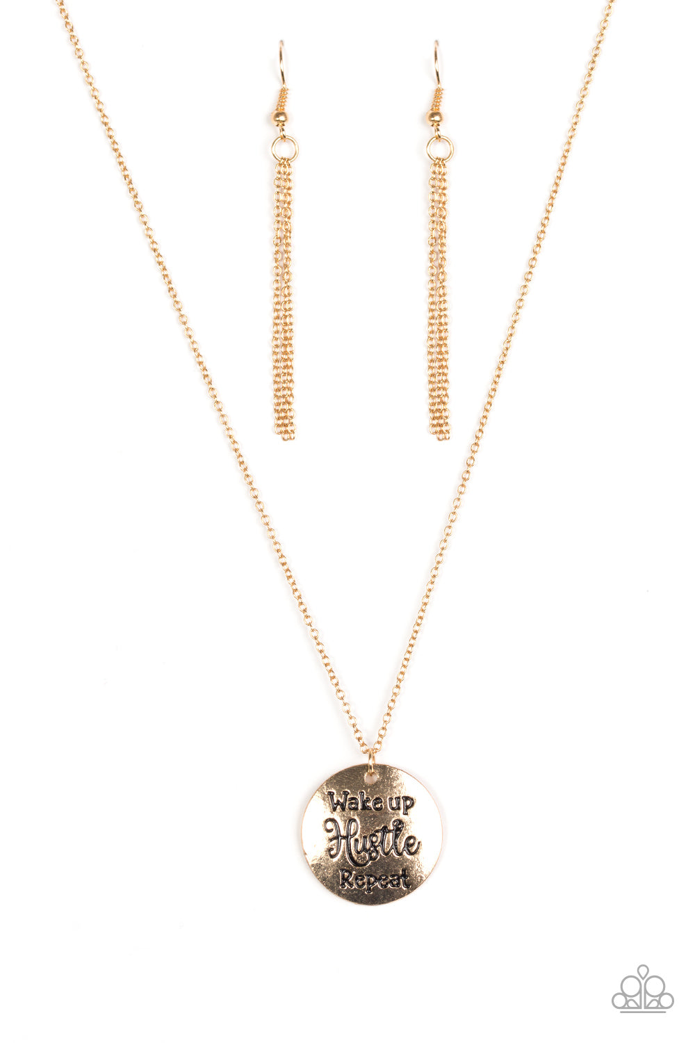 five-dollar-jewelry-hustle-on-repeat-gold-necklace-paparazzi-accessories