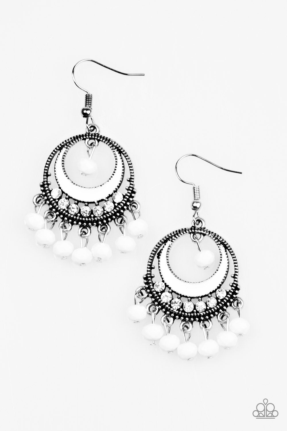 five-dollar-jewelry-meet-me-at-midnight-white-earrings-paparazzi-accessories