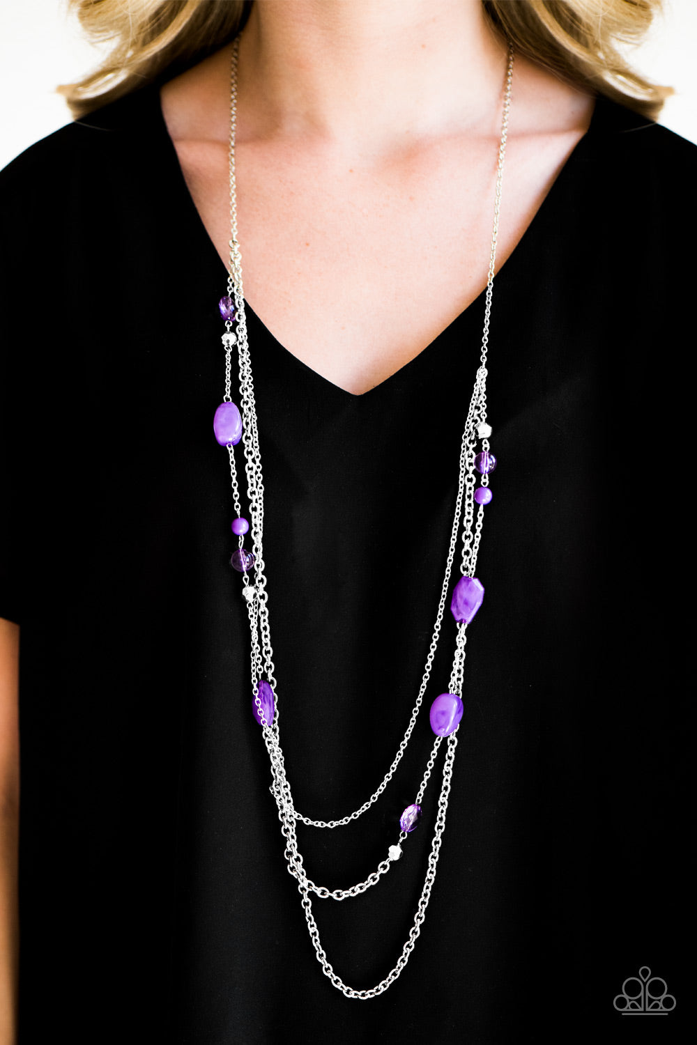 BELIZE It Or Not - Purple Necklace - Paparazzi Accessories