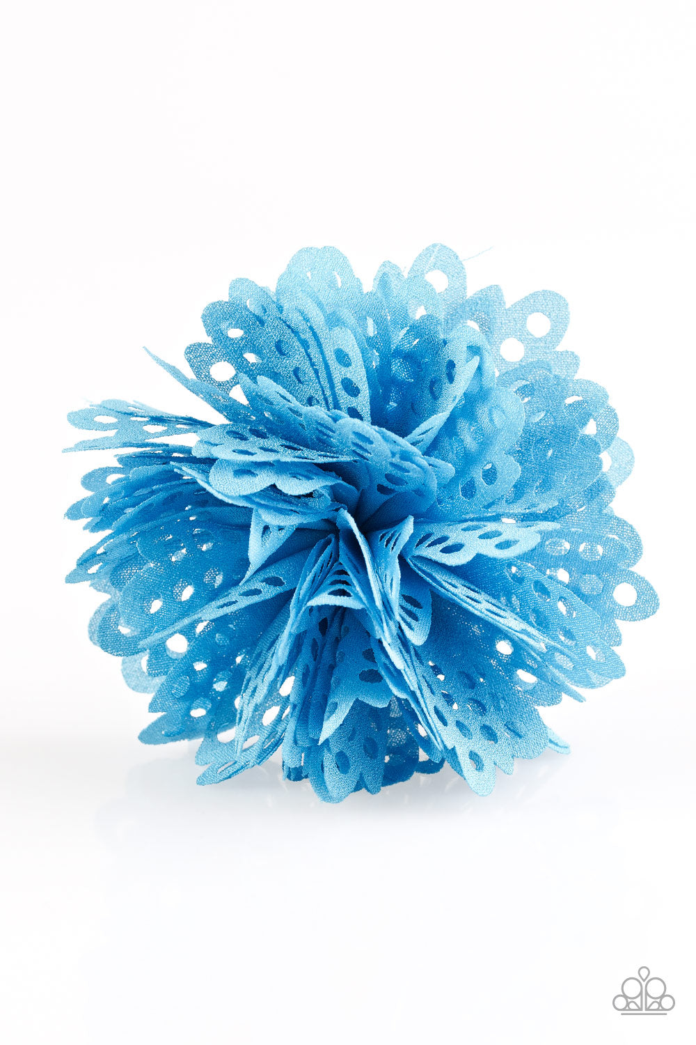 five-dollar-jewelry-the-latest-buzz-blue-hair clip-paparazzi-accessories