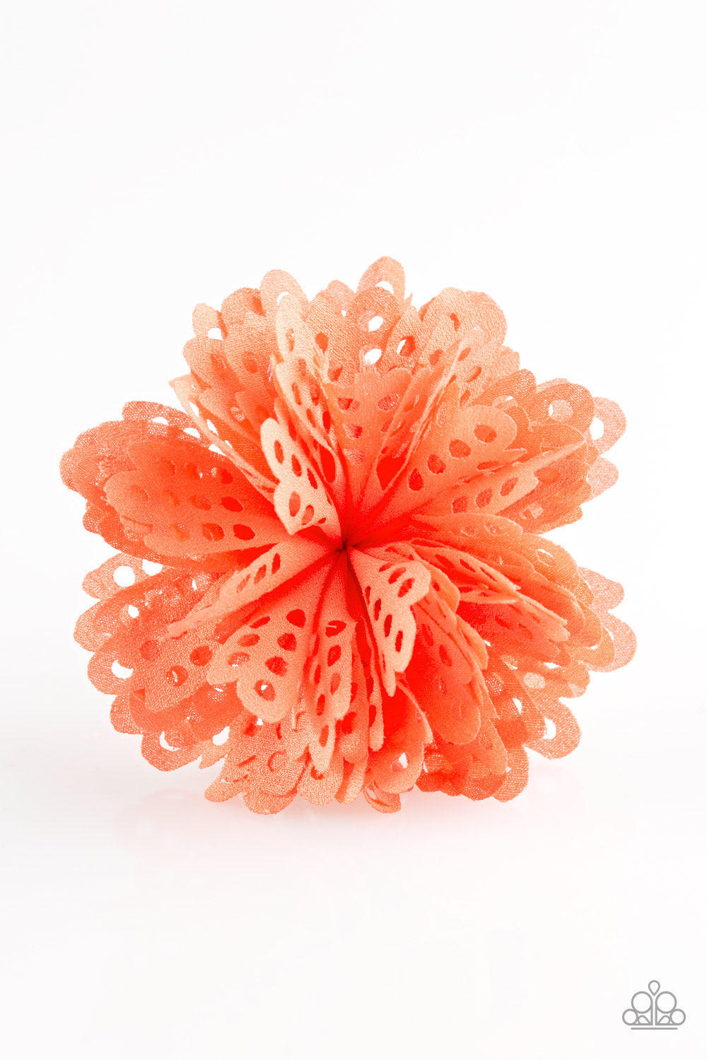 five-dollar-jewelry-the-latest-buzz-orange-hair clip-paparazzi-accessories
