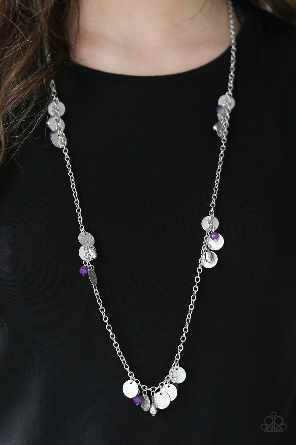 Musical Expression - Purple Necklace - Paparazzi Accessories
