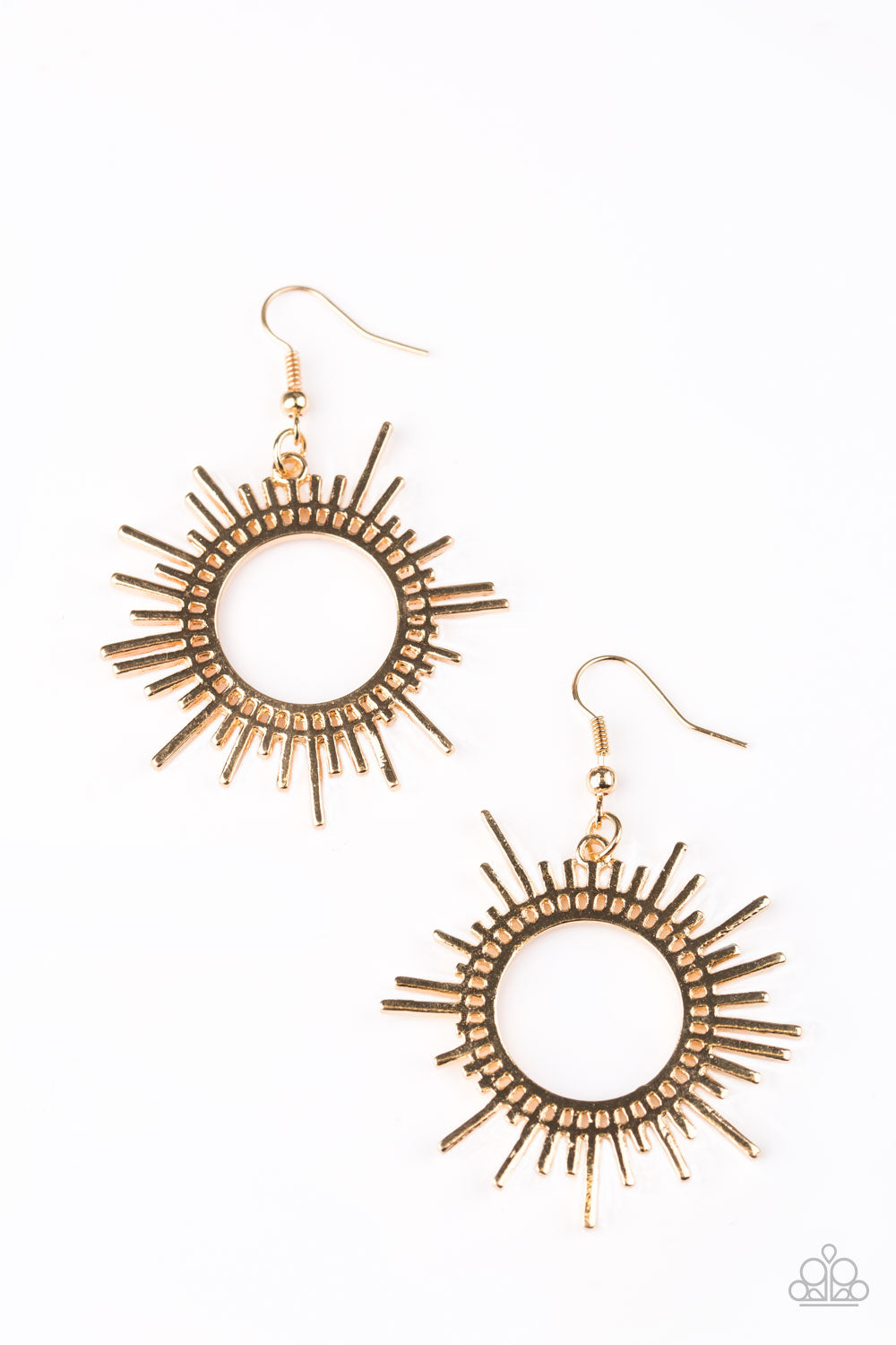 five-dollar-jewelry-all-sizzle-gold-earrings-paparazzi-accessories