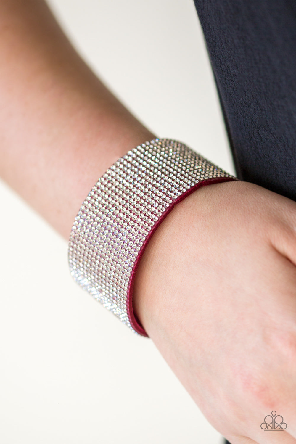 Roll With The Punches - Pink Bracelet - Paparazzi Accessories