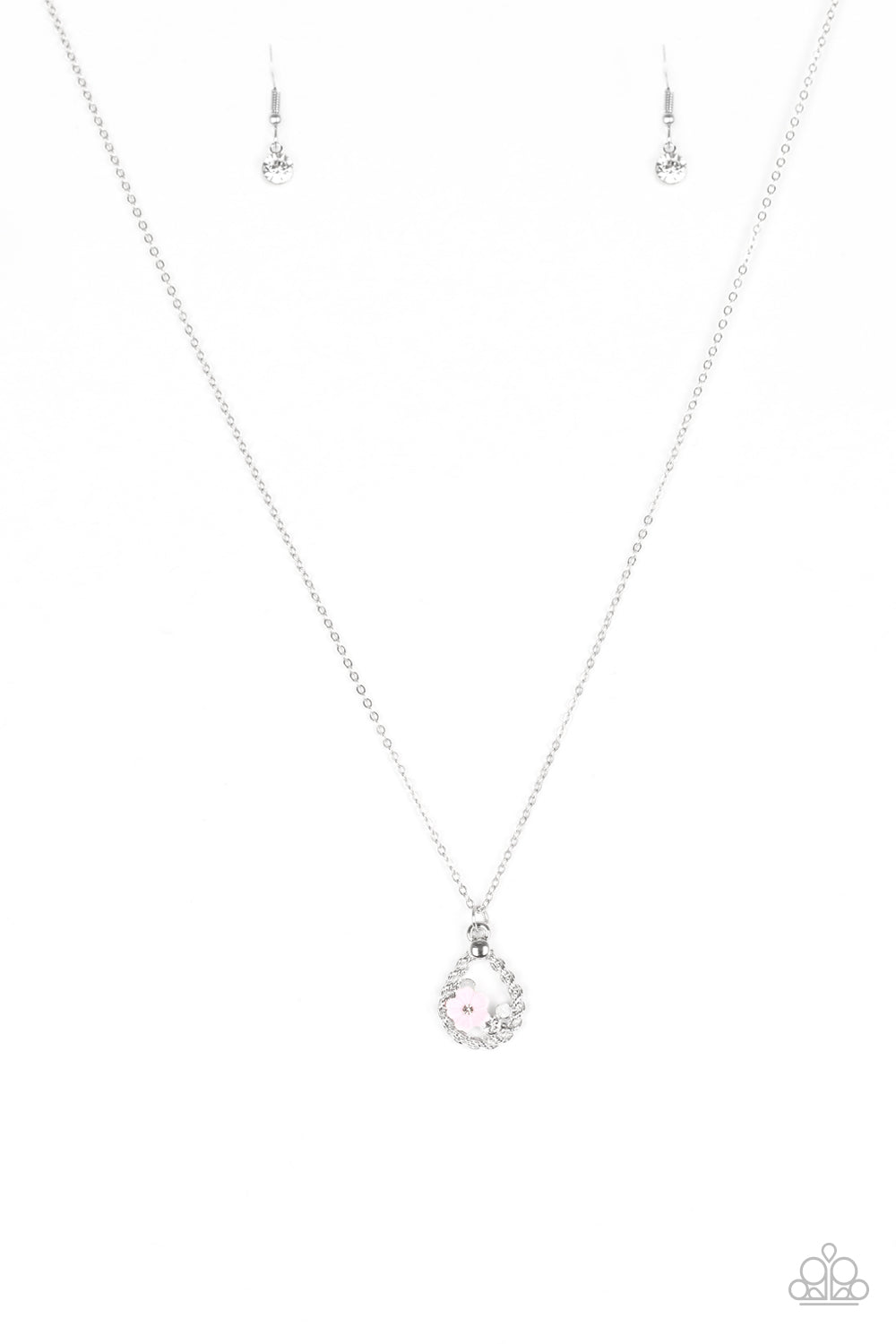 five-dollar-jewelry-serene-spring-showers-pink-necklace-paparazzi-accessories