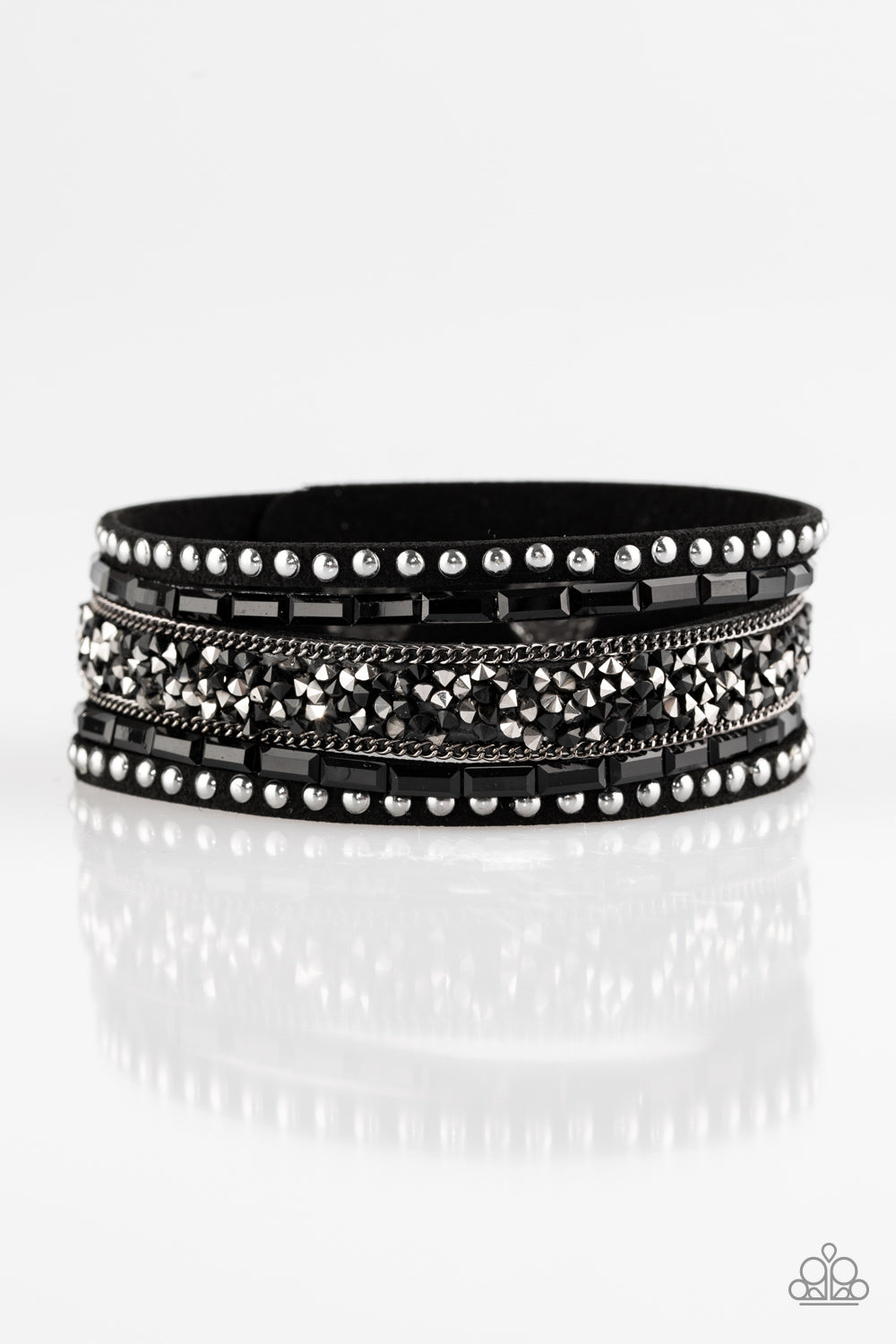five-dollar-jewelry-rhinestone-rocker-black-9393-paparazzi-accessories