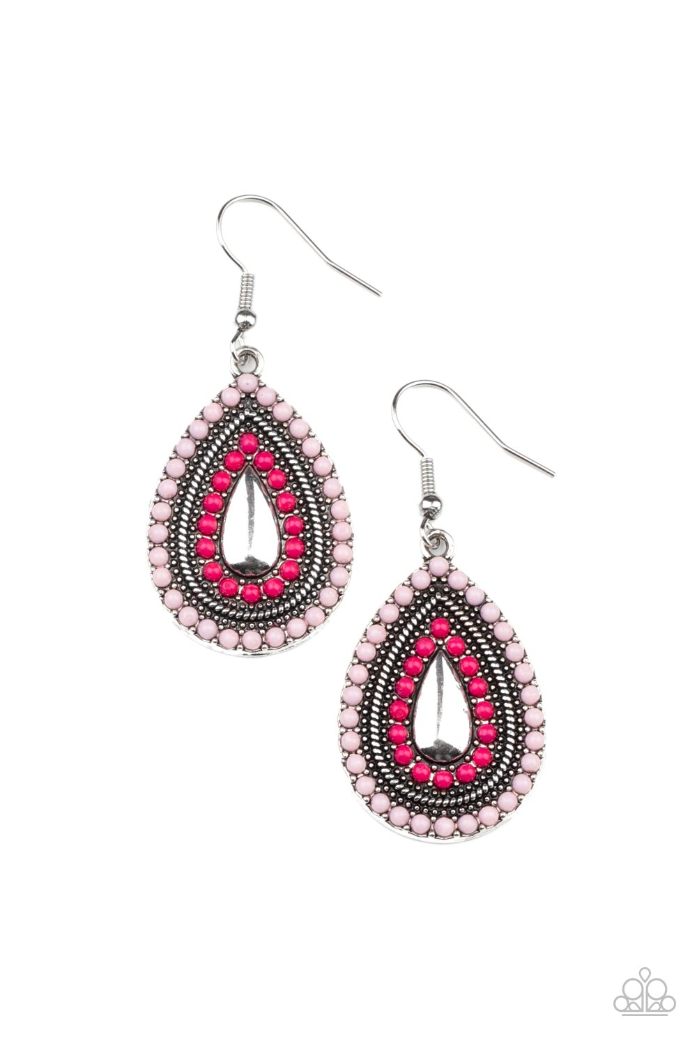 five-dollar-jewelry-pink-earring-20-41020-paparazzi-accessories