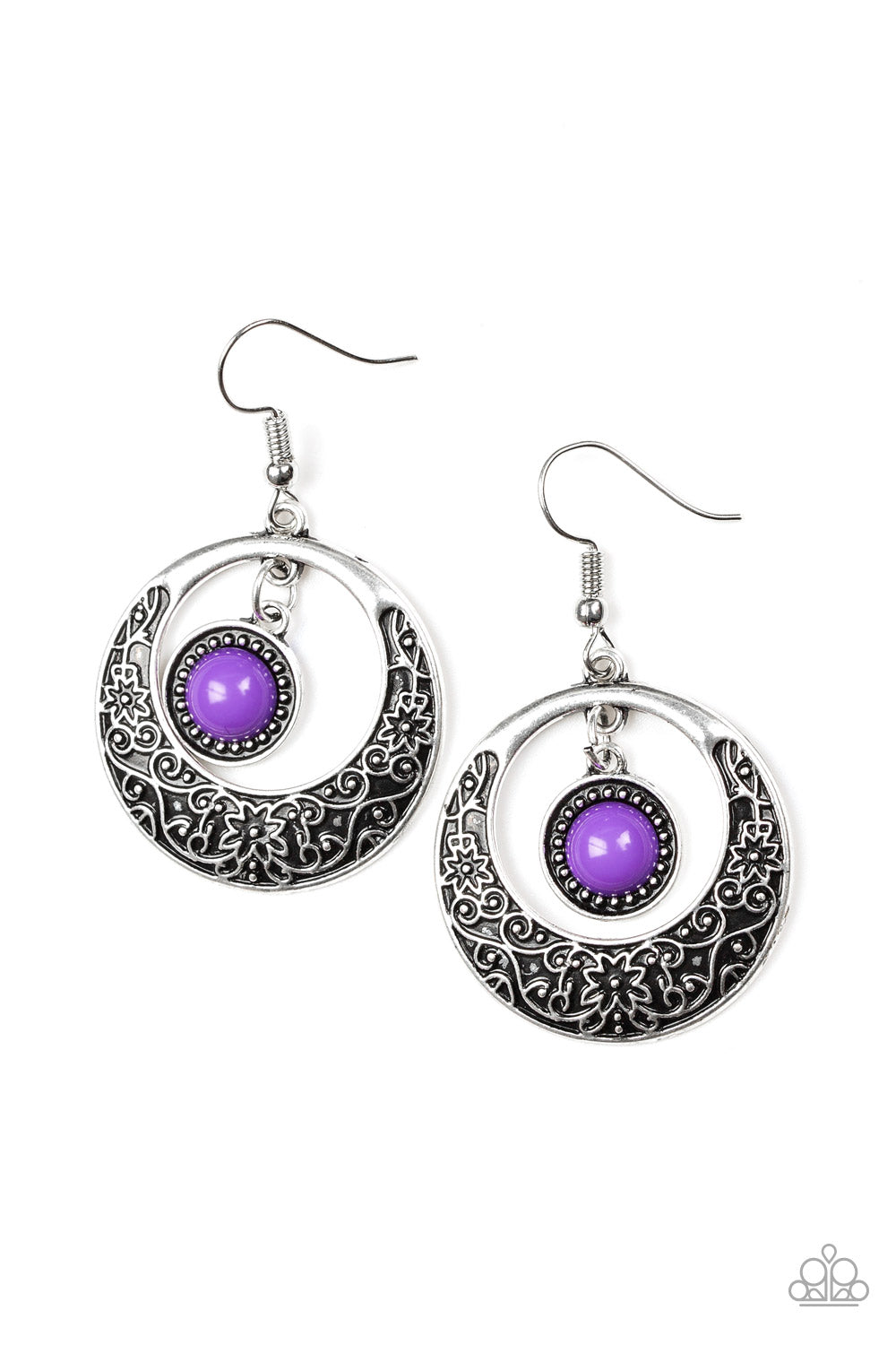 five-dollar-jewelry-wandering-waikiki-purple-earrings-paparazzi-accessories